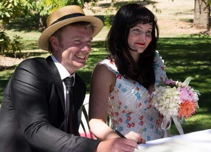 vestido ecologico boda