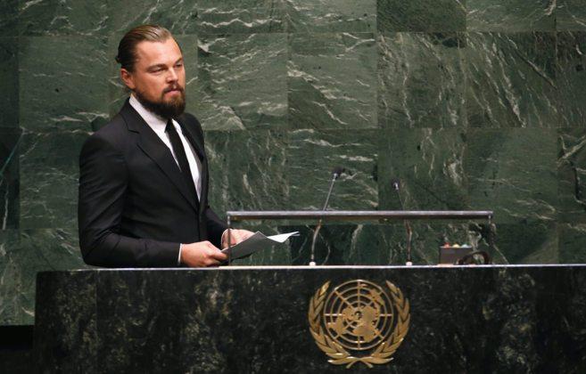 Leonardo DiCaprio cumbre