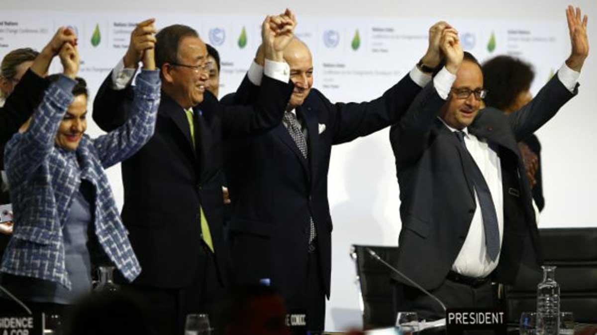 cambio climático paris