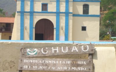 Iglesia de Chuao, Venezuela.
