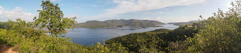Vista panorámica del Parque Nacional Mochima