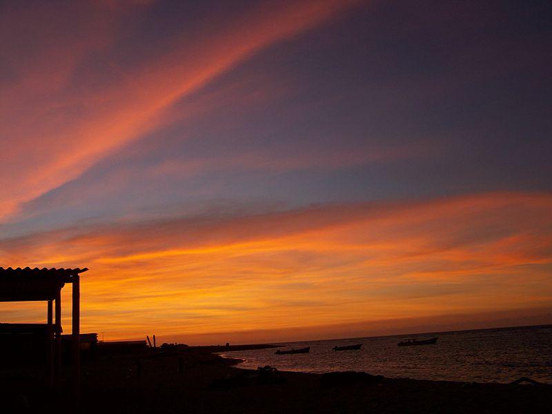 Amanecer Cabo San Román, Península de Paraguana