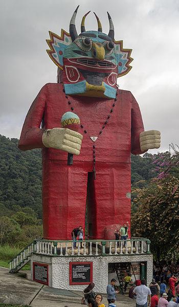 Monumento Diablo danzante de Yare, La Venezuela de Antier