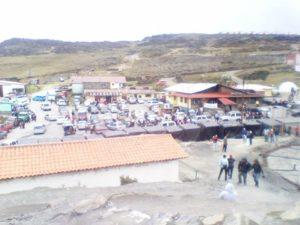 Vista en El Pico El Aguila
